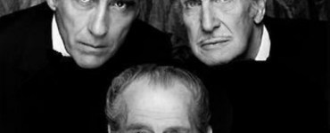 Christopher Lee, Vincent Price and Peter Cushing