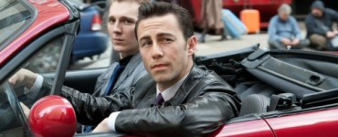 Joseph Gordon-Levitt and Paul Dano (R to L) in Looper
