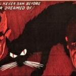 Karloff and Lugosi in The Black Cat (1934)