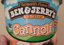 Cannoli by Ben and Jerrys Ice Cream