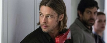 Brad Pitt, Pierfrancesco Favino and Daniella Kertesz from World War Z