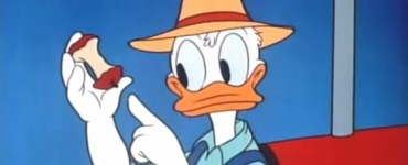 Donald Duck Applecore
