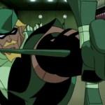Green Arrow boxing glove