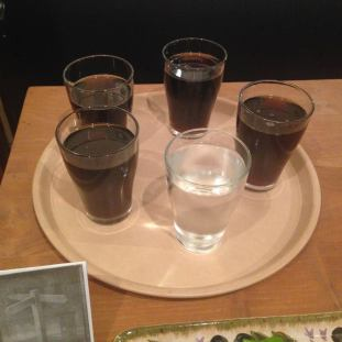 The First Post: four (root) beers and one tap water