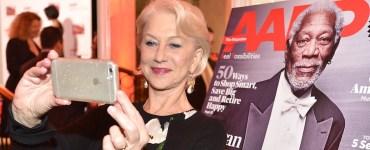 Helen Mirren AARP Selfie