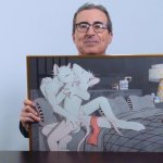 John Oliver with rat erotica