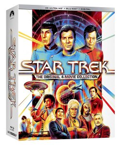 Star Trek Four Movies 4K