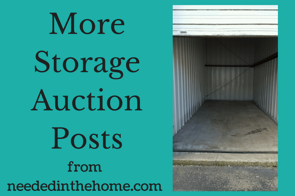 empty storage unit More Storage Auction Posts from neededinthehome.com