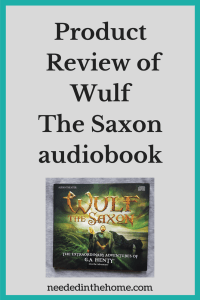 Product Review of Wulf The Saxon audiobook by Heirloom Audio Productions