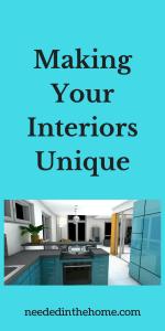 Making Your Interiors Unique