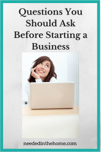 Questions You Should Ask Before Starting a Business