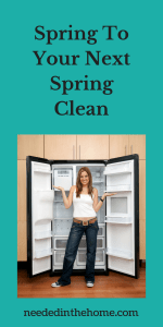 Spring To Your Next Spring Clean