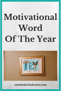 Motivational Word of The Year – Try