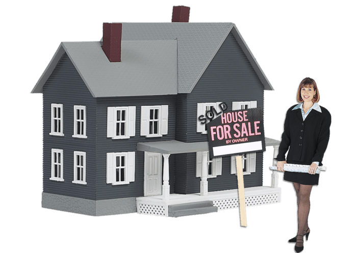 realtor woman by house for sale Critical Steps You Need To Take Before Buying A House