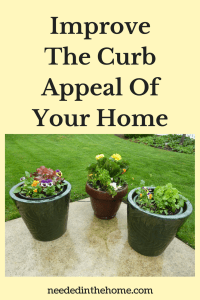 Improve The Curb Appeal Of Your Home