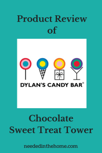 Product Review of Dylan's Candy Bar Chocolate Sweet Treat Tower