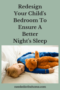 Redesign Your Child's Bedroom To Ensure A Better Night's Sleep