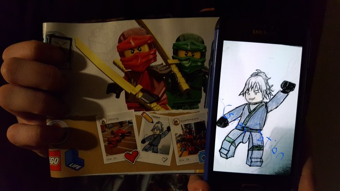 Art Featured In Lego Instruction Manual By Marissa Marohl Ninjagofanmam