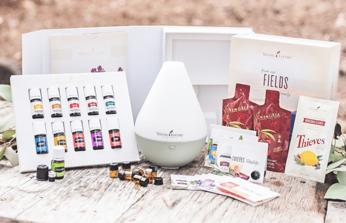 Why I became an essential oils seller all the products in the starter kit at a huge discount young living diffuser for oils