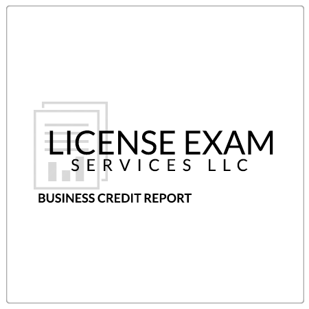 DBPR Approved Business Credit Report