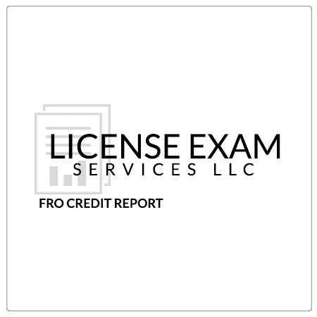 Financially Responsible Officer Credit Report