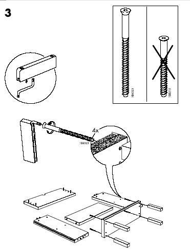 Ikea Agerum Bookcase 35 3/8X40 1/2