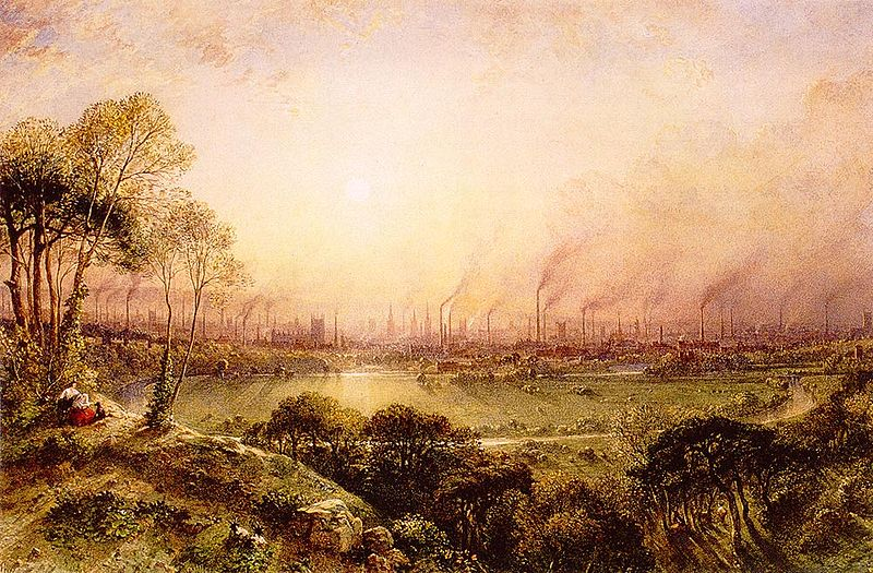 800px-Manchester_from_Kersal_Moor_William_Wylde_(1857)