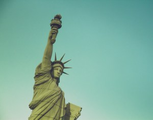 Lady Liberty (almost)