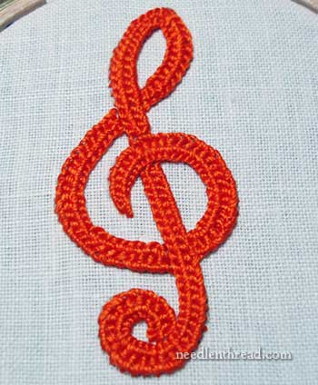 Braid Stitch Embroidery : braid, stitch, embroidery, Plaited, Braid, Stitch, Video, Printable, Instructions, NeedlenThread.com
