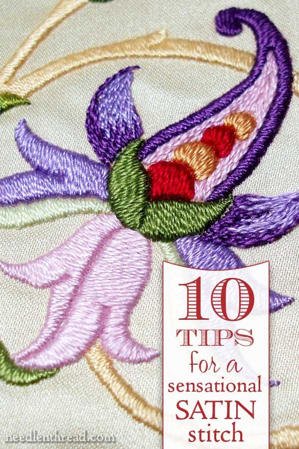 Satin Stitch Needlepoint : satin, stitch, needlepoint, Sensational, Satin, Stitch, NeedlenThread.com