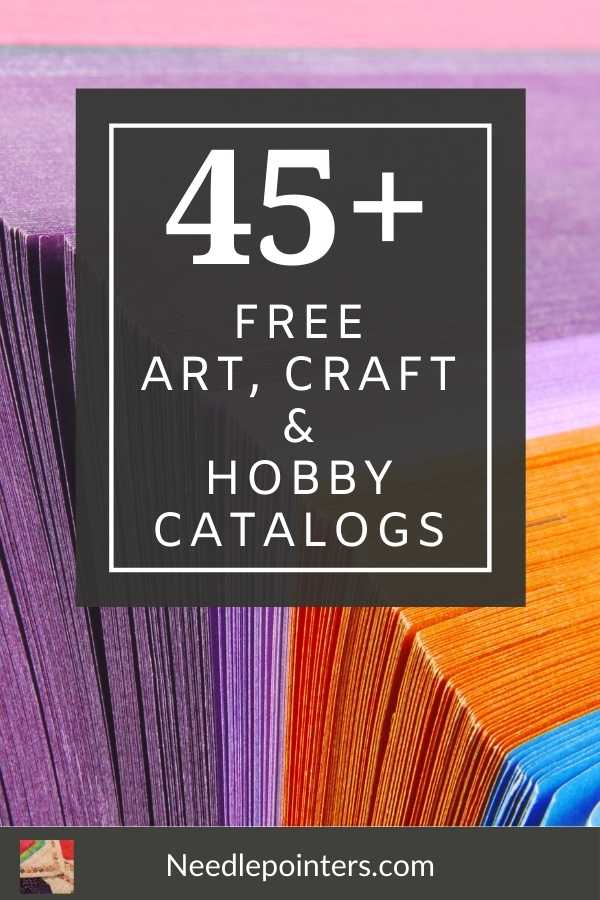 Free Bead Catalogs By Mail : catalogs, Arts,, Crafts, Hobby, Catalogs, Needlepointers.com