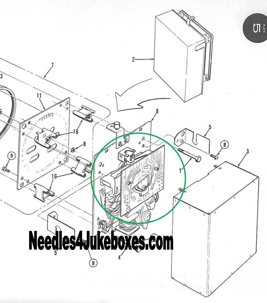 AMI / Rowe New & Original Jukebox Parts
