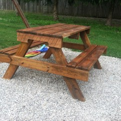 Folding Chair Picnic Table Unusual And Sets Diy Kids From Pallet Wood At Needles Nails Img 0651 1592