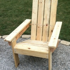 Pallet Wood Chair Most Expensive Office Diy Adirondack Chairs For 2 30 At