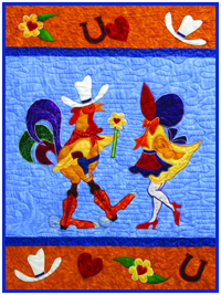 Boots Rooster and the Sunbonnet Chick Example