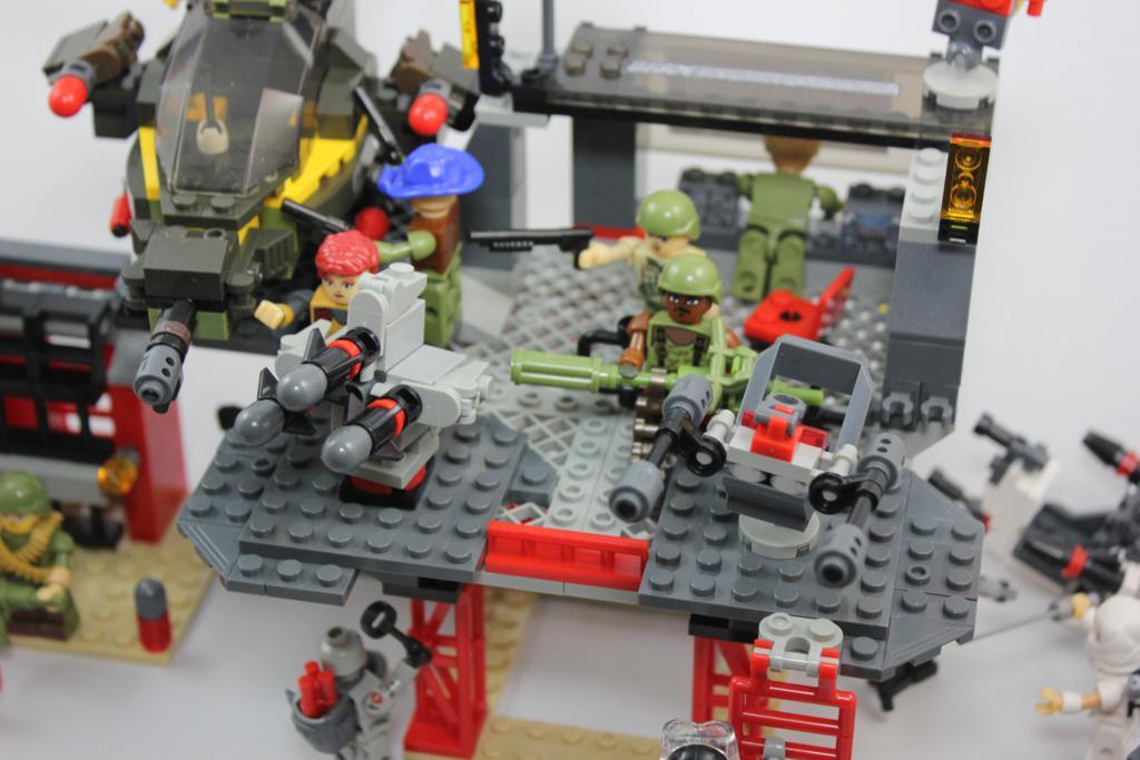 GI JOE Kreo Battle Platform