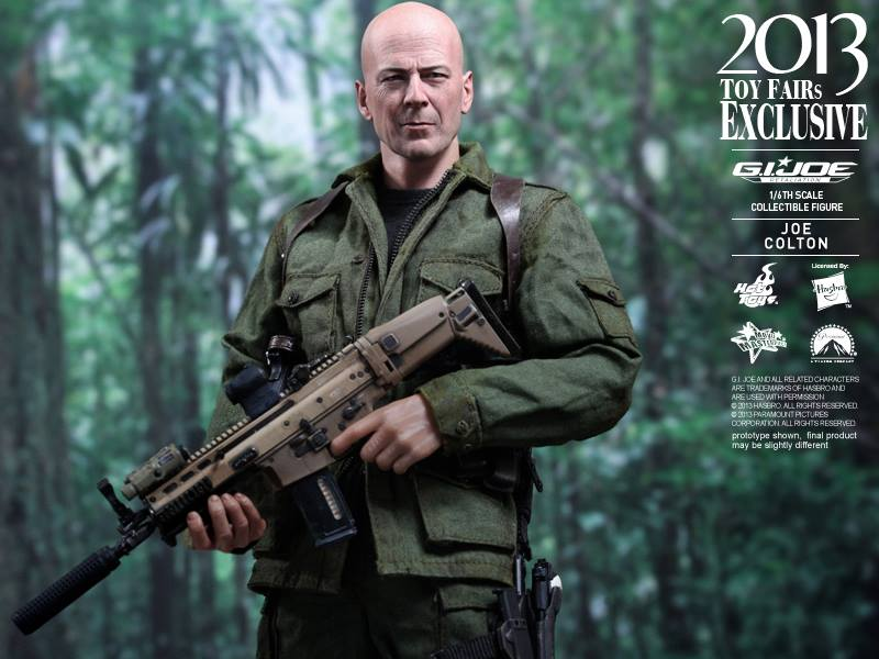 1/6th scale Joe Colton Hot Toys Figure
