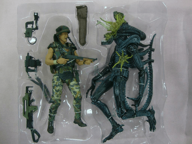 NECA Previews New 2-Packs For Their Aliens and Predator Lines