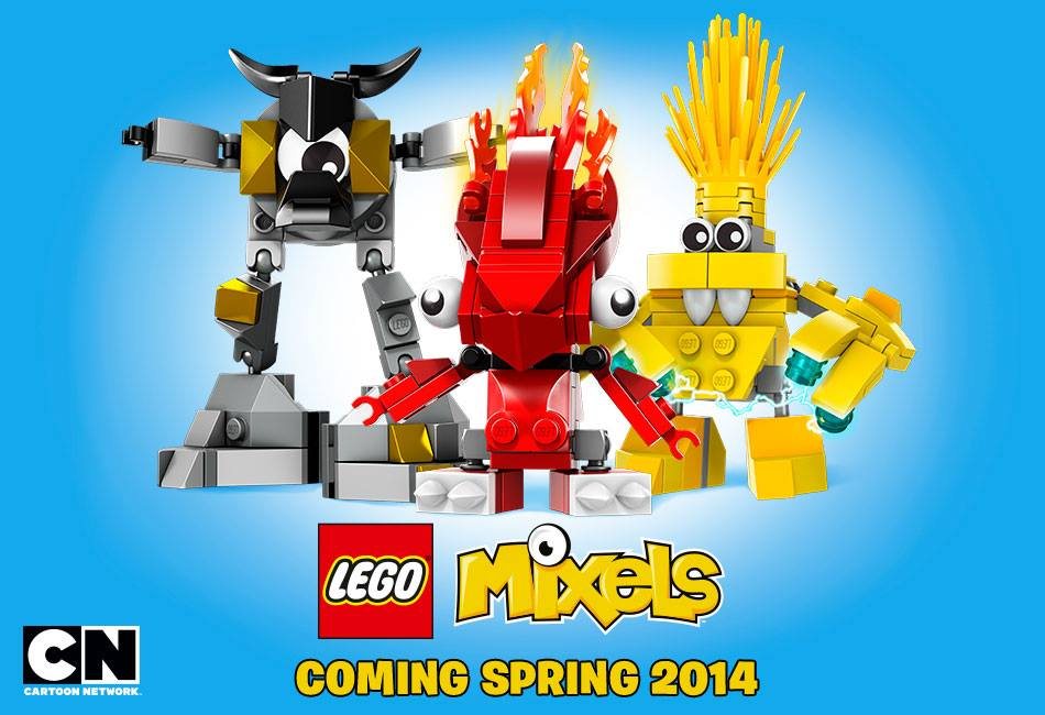 Lego Mixels Coming in March 2014!