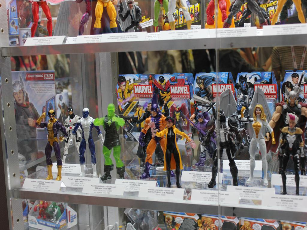 Hasbro SDCC 2013 Second Look: Marvel & G.I. JOE