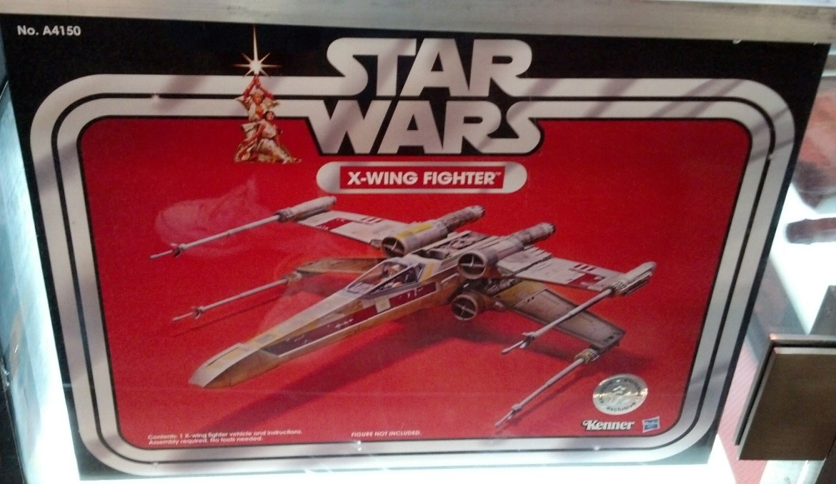 SDCC 2013: The Vintage Collection X-wing Fighter