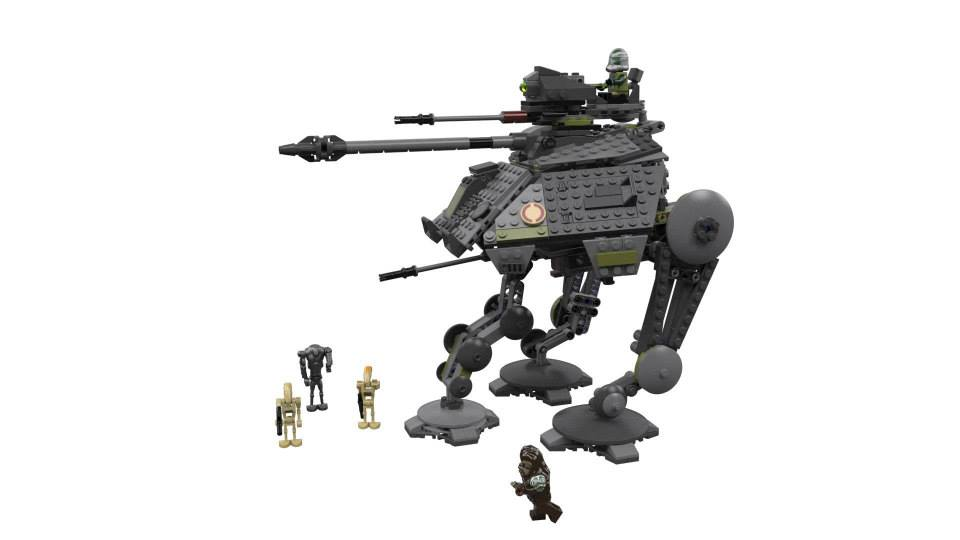 New Lego Sets! Star Wars ATRP & Back to the Future!