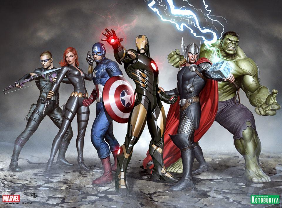 The Avengers Will be Joining Kotobukiya's ARTFX Collection!
