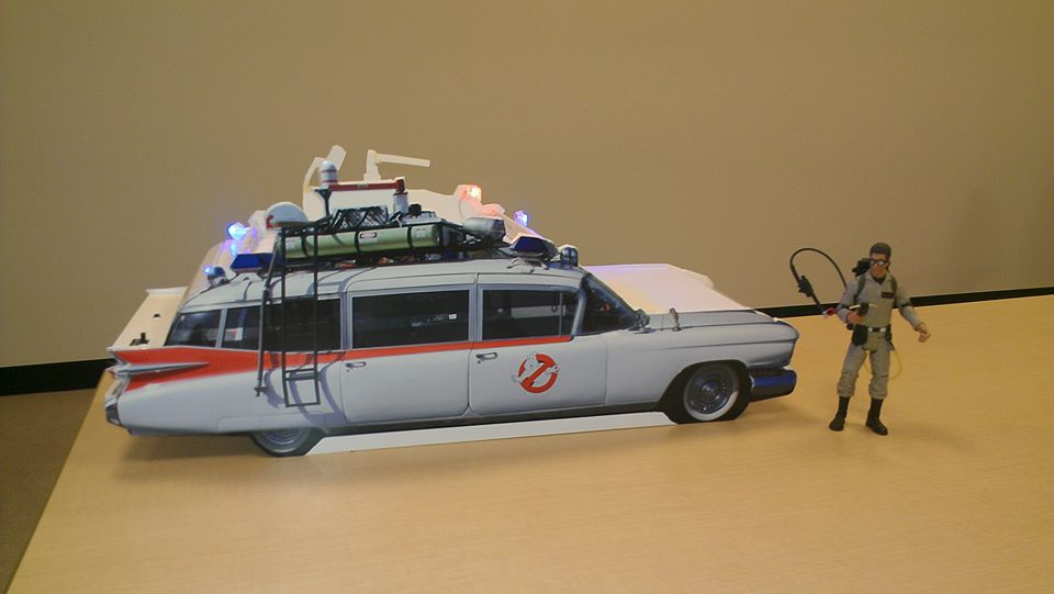 Ecto-1 Mock Up…Size does Matter!
