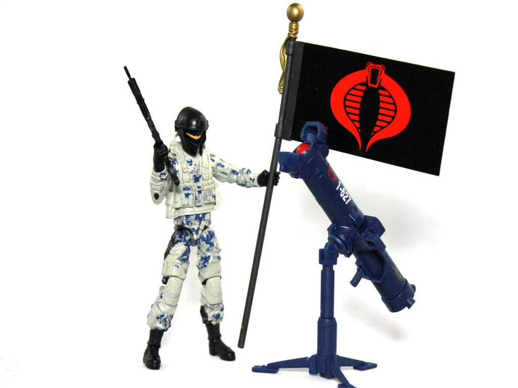 GI Joe Retaliation Cobra Combat Ninja Review!