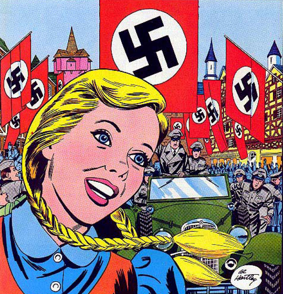 Reviews of Old Comics: Hansi, The Girl Who Loved The Swastika