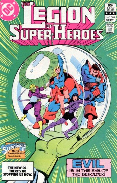 Reviews of Old Comics: Legion of Super-Heroes #303