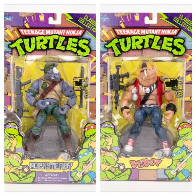 Rocksteady and Bebop Has Hit the States!!!