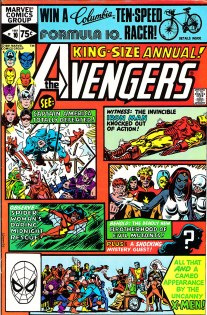 Avengers Annual 10-00