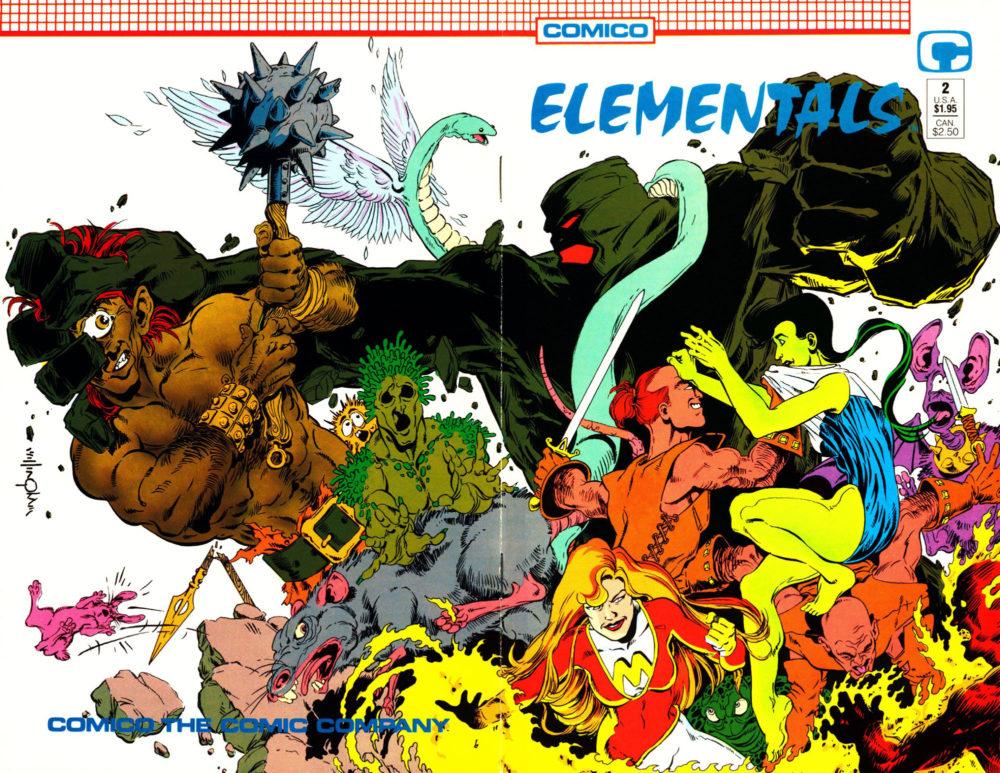 Reviews of Old Comics: Elementals Vol.2 #2